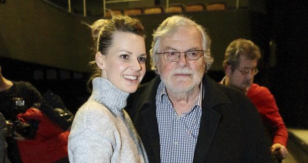 Jan Kačer s kolegyní Zuzanou Stavnou