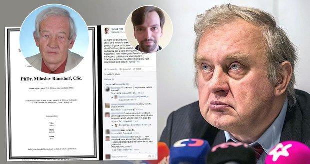 """Ransdorfa spojil s """"židoku*vami"""". KSČM: Straník to rasisticky nemyslel"""