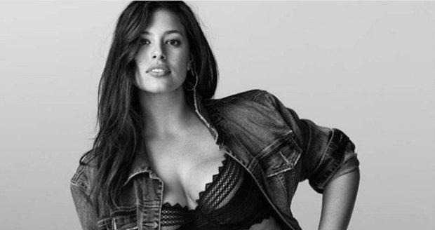 I ženy s velkými prsy mohou mít krásné prádlo, jako modelka Ashley Graham