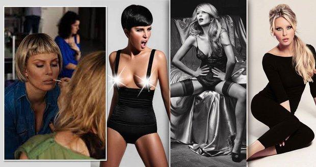 Simona Krainová by i s holou hlavou byla sexy.