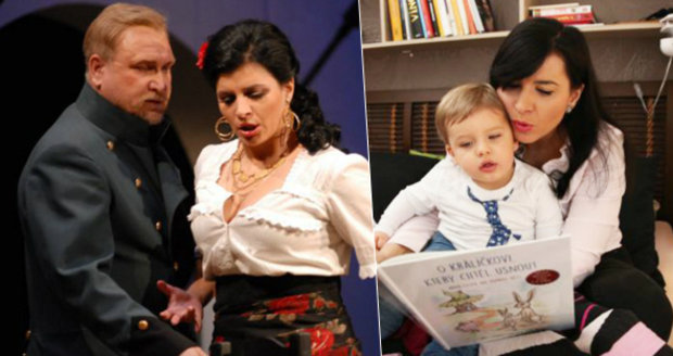 Andrea Kalivodová zažila peprné chvilky během zkoušení opery Boris Godunov.