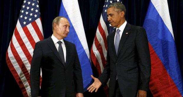 Putin a Obama zkrotí rebely i Asada? Rusko a USA mají dohodu o příměří v Sýrii
