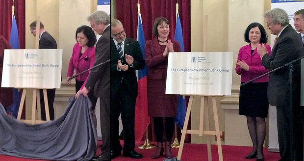 Evropská investiční banka otevřela českou pobočku, kde bude, není jasné