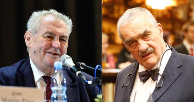 Schwarzenberg: Zeman kvůli návykovým látkám ztratil zábrany, budou ho volit fanoušci Ruska