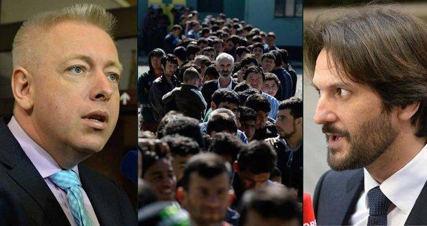 Hádka o migranty. Chovanec, Kaliňák a Řek šli v Bruselu do sebe