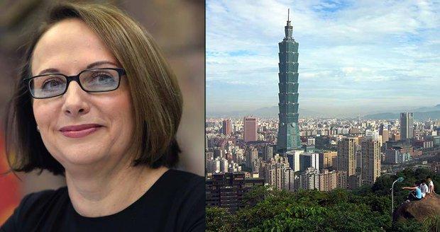 Tchaj-wan ostře protestuje proti Praze. Vadí mu partnerství s Pekingem