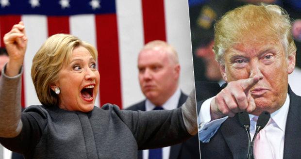 Super bojovné úterý o Bílý dům: Jaké trumfy mají Trump a Clintonová?