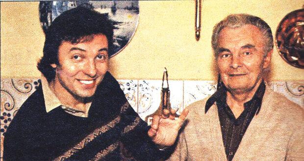 Gott s otcem Karlem také ve vile pravidelně vařili.