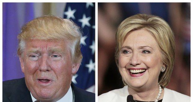 Boj o Bílý dům: Trump a Clintonová potvrdili ve zlomový den role favoritů