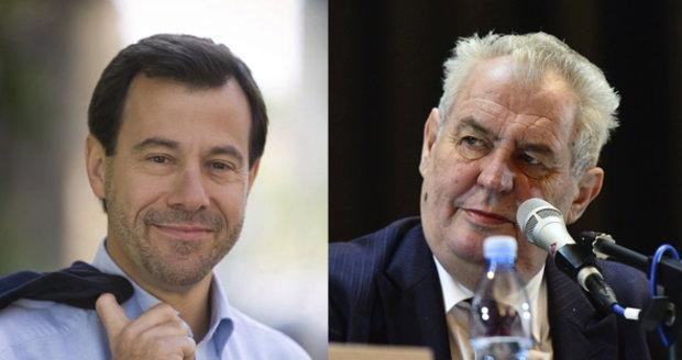 Zeman trpí demencí a narcismem, pustil se do prezidenta vydavatel Přítomnosti