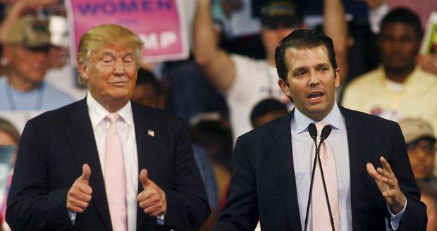 Trumpův syn odhalil komunikaci s WikiLeaks. Sahá i do prezidentské kampaně