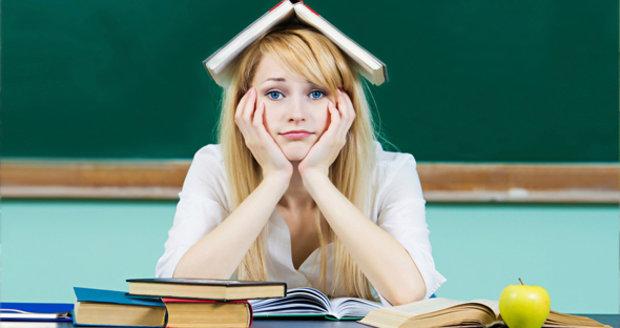 Přechod na střední školu není pro některé žáky jednoduchý.