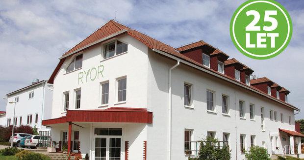 Areál firmy RYOR v Kyšicích u Prahy