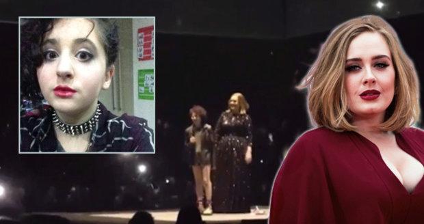 Autistické dívce se splnil sen. Zazpívala si s Adele.