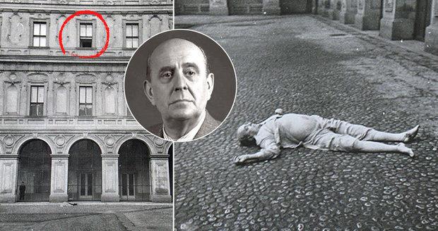 Muž, který fotil mrtvého Jana Masaryka, promluvil! StB mi hned sebrala foťák