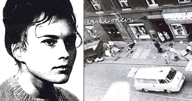 Před 41 lety popravili největší českou masovou vražedkyni: Hepnarovou na popravu vlekli