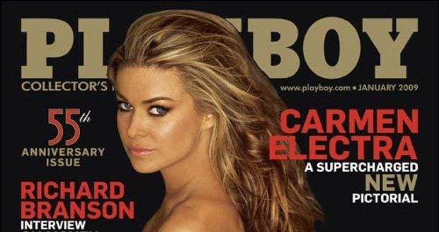 Carmen Electra se ráda svléká. A pro Playboy zvláště!