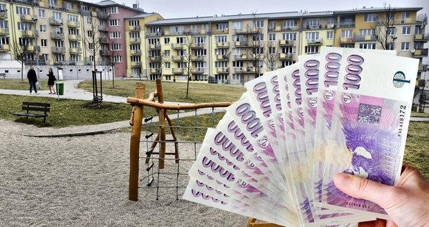 Ceny bydlení v Česku rostou nejvíc v EU. Lidé už na vlastní byty nemají peníze