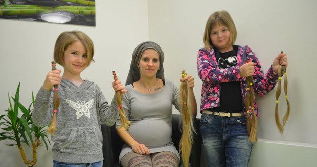24023ea17a3 Nechat si ostříhat vlasy a darovat je na výrobu paruk pro onkologicky  nemocné. To je