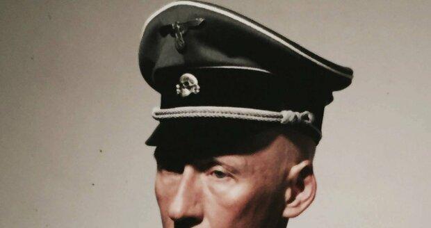 Natáčení filmu Anthropoid: Detlef Bothe coby Reinhard Heydrich