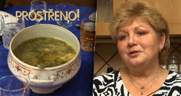V Prostřeno se bude podávat zkyslá polévka.