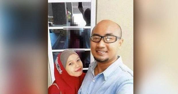 Hororová selfie děsí lidi na internetu.