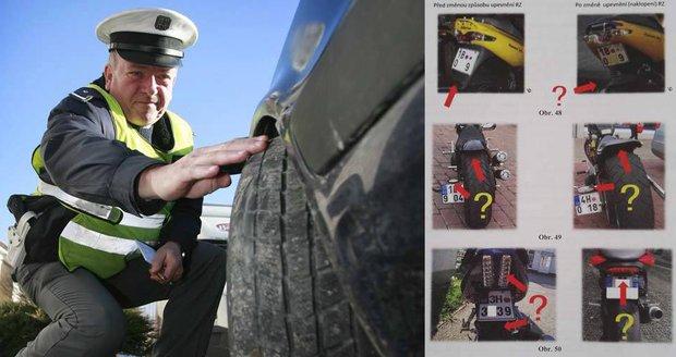 """Zkontrolujte si auto nebo motorku. Policisté se chystají zabavovat """"techničáky"""""""