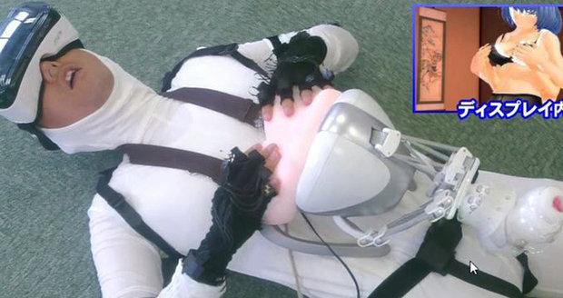 Virtuální sex na japonský způsob.