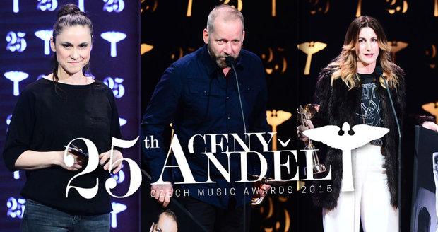 Ceny Anděl 2015: Dusilová, Koller i Vytisková zaútočili na Zemana v přímém přenosu!