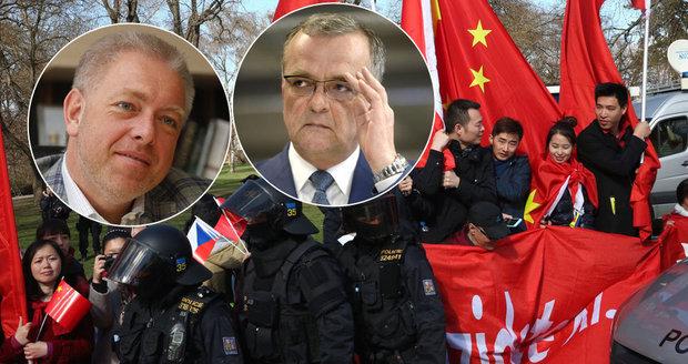 Chovanec ohlásil rezignaci. Pokud měla policie pokyn pro zvůli u čínské návštěvy