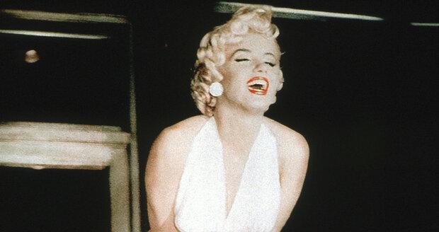 1955 - Marilyn Monroe a její slavný moment ve filmu Slaměný vdovec.