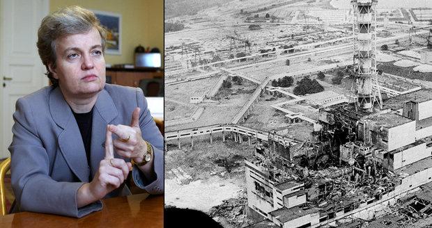 Drábová o následcích Černobylu: Máme kvůli němu radioaktivní maso a houby? Ano, ale...