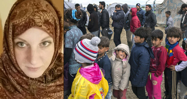 Aktivistka Eva (41) se stará o uprchlíky. Matku čtyř dětí teď šetří sociálka
