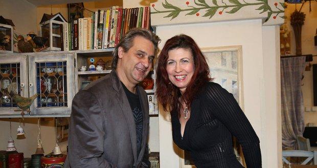 Slávek Boura s přítelkyní Monikou
