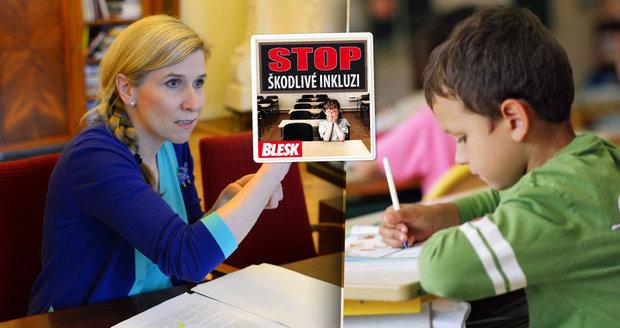 Realita inkluze: Financování bude zmatené a zkreslené, tvrdí pedagog
