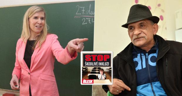 Inkluze má odstranit diskriminaci Romů ve školství. Podle Andreje Lučky ale Romům ve studiu nikdo nebrání.