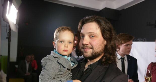 Felix Slováček junior se svým synem Felixem Antonínem