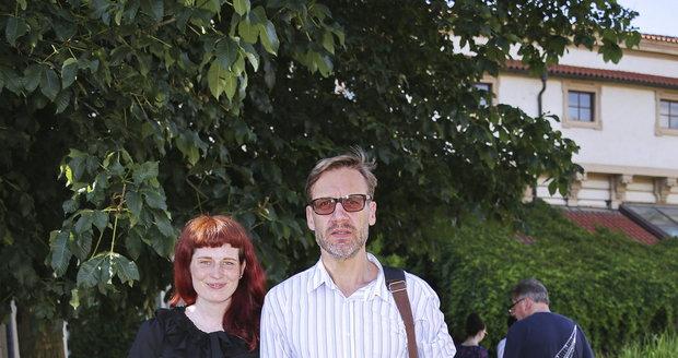 David Matásek s partnerkou Evou Vlachovou