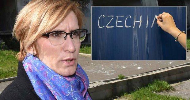 """""""Czechia je ohavný název,"""" přitvrzuje Šlechtová. A čtenáři Blesk.cz souhlasí"""
