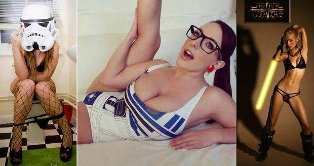 Tyhle holky mají Star Wars hodně rády.