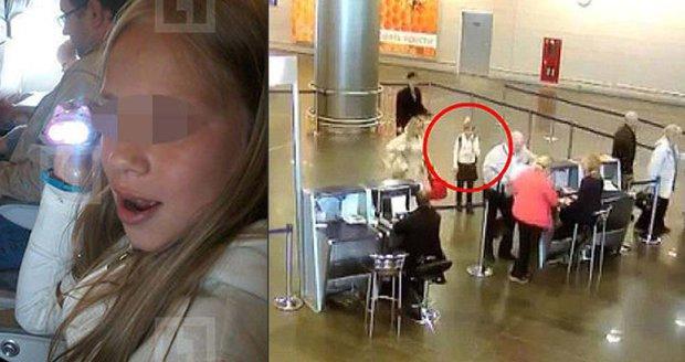 Jedenáctiletá dívka obešla kontrolu na moskevském letišti.