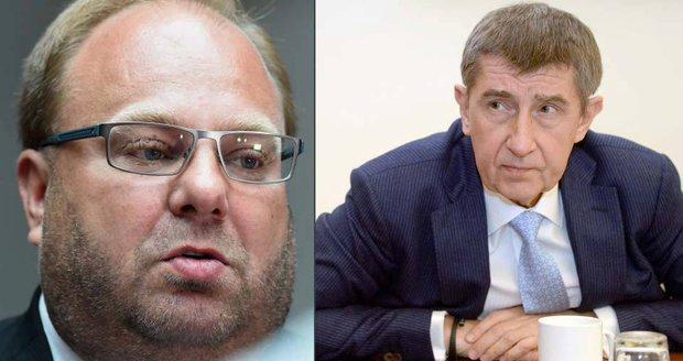 Babiš před soudem: Hejtmana Nováka přirovnal k Rathovi, ten ho žaluje kvůli lži