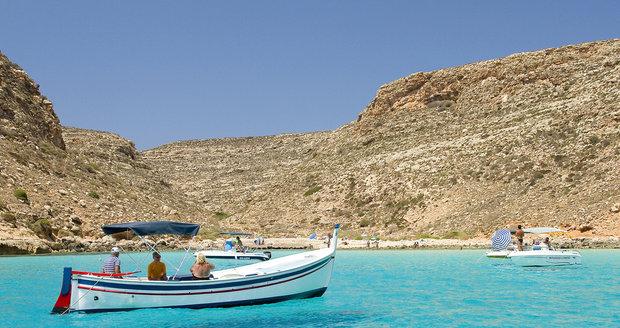 Spiaggia dei Conigli, Sicílie - Lampedusa