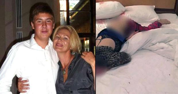 Syn miliardáře uškrtil matku v posteli: Zdrogovala mě a chtěla sex, brání se