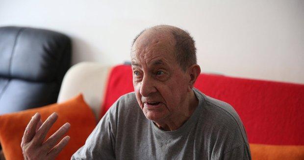Přeživší partyzán Antonín Chmel