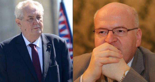 Dohra kauzy Brady: Zeman nechce Hermana ve vládě. Probere to zřejmě se Sobotkou
