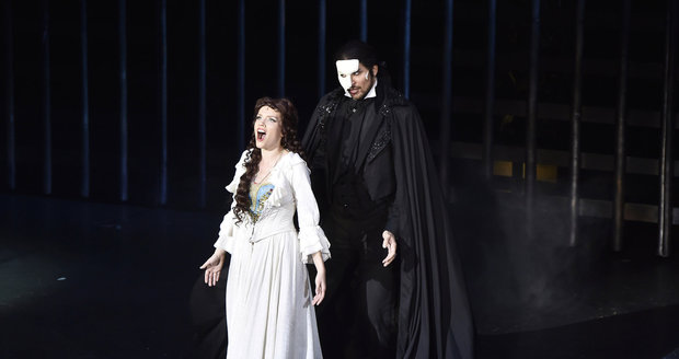 Tereza Marshall Jako Nova Christine V Muzikalu Fantom Opery