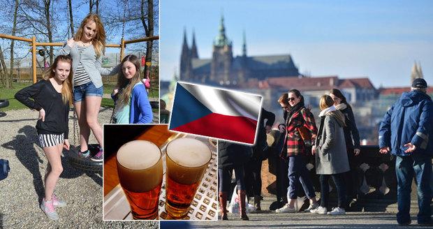 10 věcí, které lákají cizince do Prahy: Nejen pivo a holky