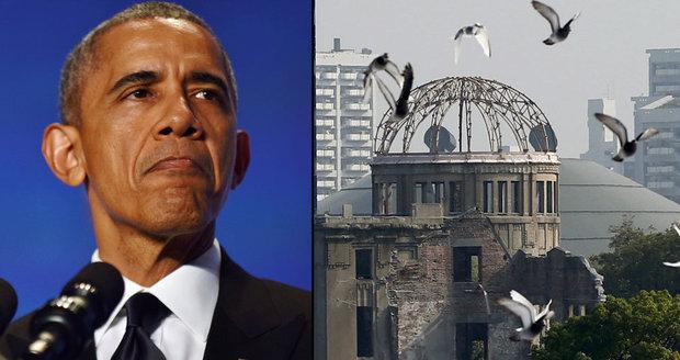 Obama po Kubě chystá další zápis do historie. Přiletí do vybombardované Hirošimy