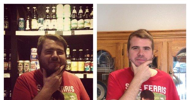 Chlapík s přezdívkou Meatteo se na internetu pochlubil, že se na 500 dnů vzdal alkoholu. Za tu dobu zhubl 40 kg a opticky omládl tak o 15 let!